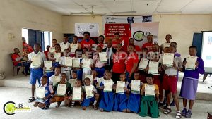 Beneficiaries of the 100% tuition scholarship