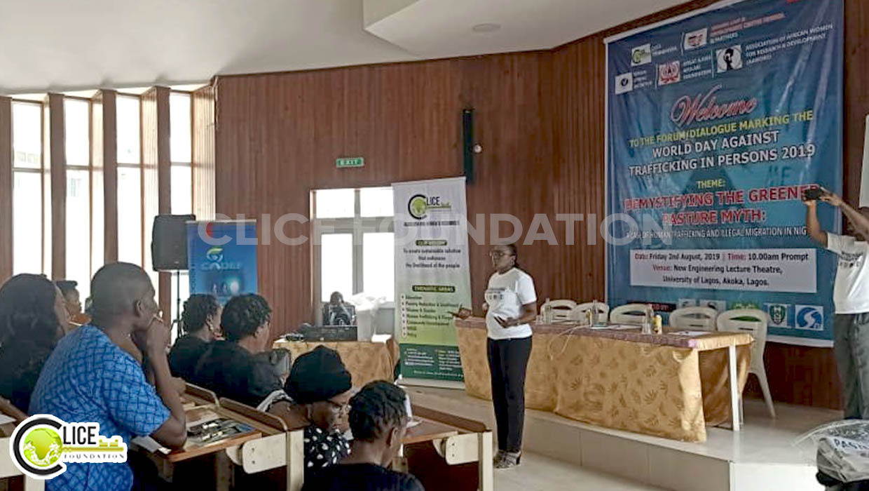 CLICE Foundation, Partners call for Effective Policy Implementation on Human Trafficking